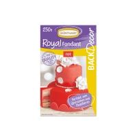 8 pz Royal pasta di zucchero, rosso