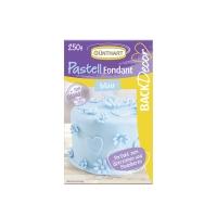 8 pz Royal pasta di zucchero,blu