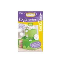 8 pz Royal pasta di zucchero, verde