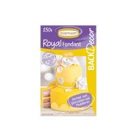 8 pz Royal pasta di zucchero, giallo