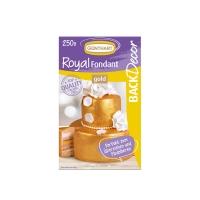 8 pz Royal pasta di zucchero,oro