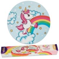 9 pz Unicorno, copertura per torta