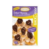 12 pz Filigrane di cioccolato