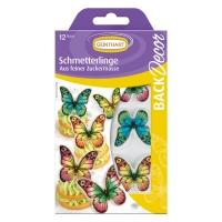 15 pz Placca di decoro Farfalle