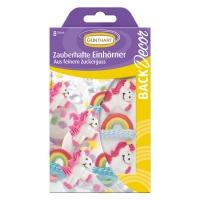 15 pz Unicorni di zucchero e  arcobaleni