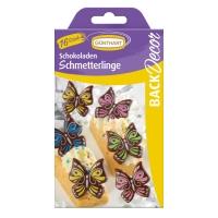 15 Farfalle di cioccolato fondente