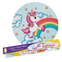 9 Unicorno, copertura per torta