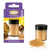 6 Colorante alimentare con effetto dorato
