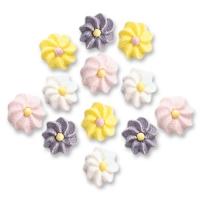 Mini fiori in zucchero