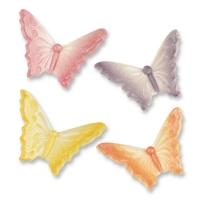 Farfalle di zucch. adragante piccole, assortite
