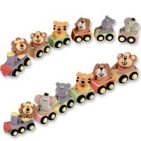 Animali di zucchero sul treno