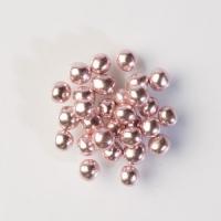 1 pz Perle luccicanti rosa, cuore cioccolato croccante