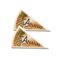 120 pz Triangoli ananas