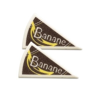 120 pz Triangoli banana