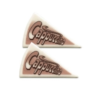 120 pz Triangoli cappuccino