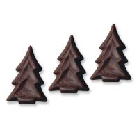 abete di natale in cioccolato