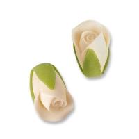 36 pz Boccioli di rosa bianchi