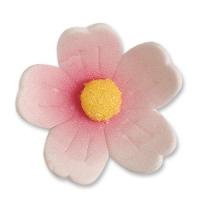 60 pz Fiori rosa, grandi