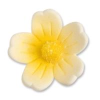 60 pz Fiori gialli grandi