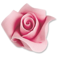 12 pz Rose color rosa, grandi
