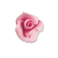 24 pz Rose color rosa, piccole