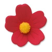 60 pz Fiori rossi, grandi