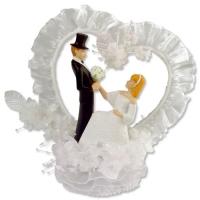 1 pz Sposi con cuore