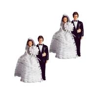 Sposi grande in plastica