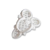 18 pz Filigrane di zucch.piccole bianche