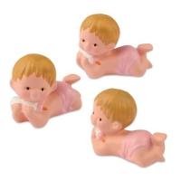 6 pz Bebè rosa