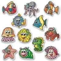 """Placche di """"animali di mare"""""""