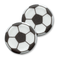 100 pz Placche da decoro: pallone 40mm