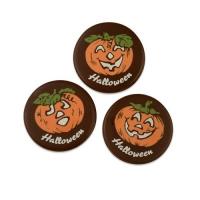 160 pz Zucca di cioccolato fondente Halloween, assortite