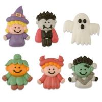 Figure Halloween, piatte, assortite