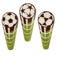 96 pz Stecchino Calcio, cioccolato fondente, ass.