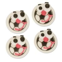 144 pz Palloni di calcio con occhi, zucchero