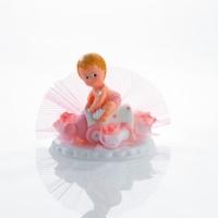 6 pz Alzate con bebè rosa