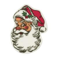 Visi Babbo Natale in massa di zucchero