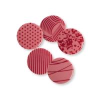 Placca, cioccolato ruby, assortite