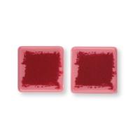 Quadrato piccolo, cioccolato ruby