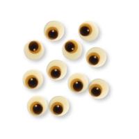 Occhi, cioccolato bianco