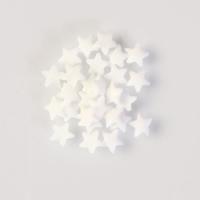 1,5 Kg decori da spargere  stelle di zucchero bianche