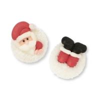48 Pz. Babbo Natale-palla di neve, zucch.
