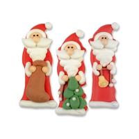 48 pz Babbo Natale di zucc, piccolo ass