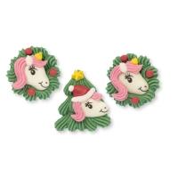 48 Pz. Unicorno-Natale, zucch., misto