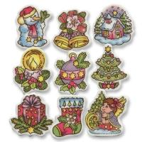 100 pz Miniature natalizie