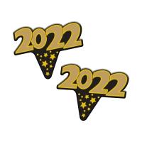 100 pz Emblemi  2021 in cartone