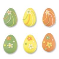 Uova di pasqua, piccoli, piatti
