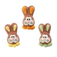 Teste di conigli, piatti