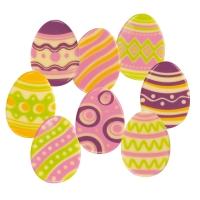 96 pz Ovetto Pasqua, cioccolato fondente, assortiti